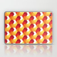 Hexagons on fire! Laptop & iPad Skin