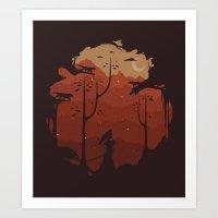 Sanctuarium Art Print