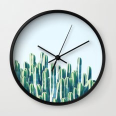 Cactus V2 #society6 #decor #fashion #tech #designerwear Wall Clock