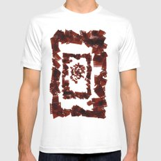 Wrap Mens Fitted Tee SMALL White