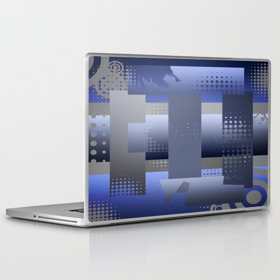 Squared Laptop & iPad Skin