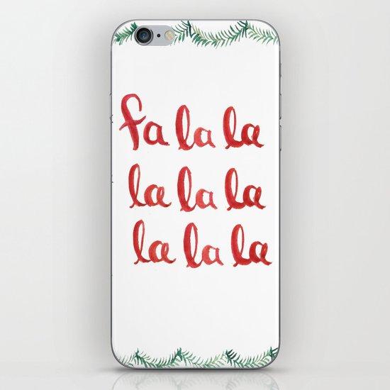 Fa La La La La La La La La iPhone & iPod Skin