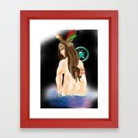 The Indian. Framed Art Print