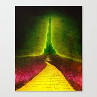 Dark Emerald Canvas Print
