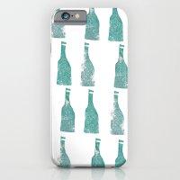 iPhone & iPod Case featuring ten green bottles by Lauren Peckham