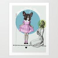 Pretty Chauncey Princess… Art Print