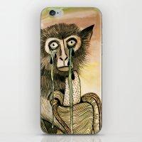 Sad Monkey iPhone & iPod Skin