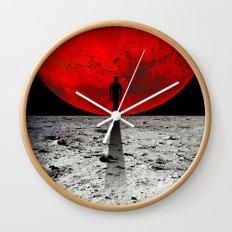 HOMESICKNESS Wall Clock