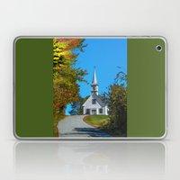 Chapel on the hill Laptop & iPad Skin