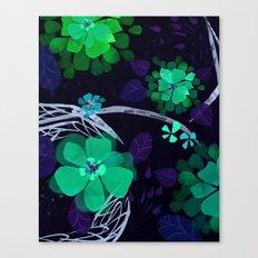 Flora Queen Canvas Print