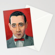 Pee-Wee Herman, A portrait Stationery Cards