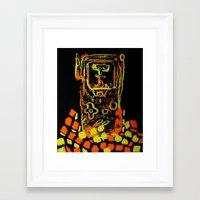 GAMEBOYATÓMICO Framed Art Print