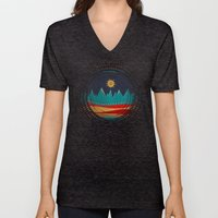 Textures/Abstract 126 Unisex V-Neck