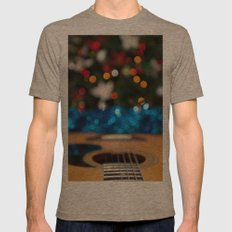 A Sweet Song Mens Fitted Tee Tri-Coffee SMALL