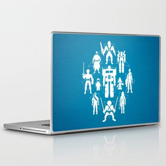 Plastic Heroes Laptop & iPad Skin