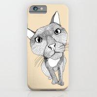 BigHead Cat iPhone 6 Slim Case