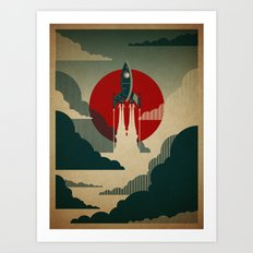 The Voyage Art Print
