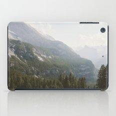 A Switzerland Mountain Valley - Landscape Photography iPad Case