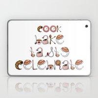 Cook Bake Taste Celebrate Laptop & iPad Skin