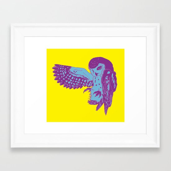 Saw-Whet Owl Framed Art Print