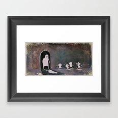 Sadclops Framed Art Print