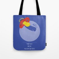 Next Top Manager Tote Bag