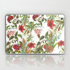 Ruby & Cerulean Floral Laptop & iPad Skin
