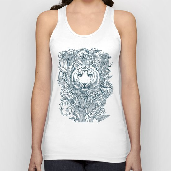 Tiger Tangle Unisex Tank Top
