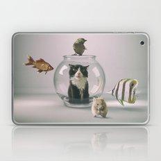 Curiosity killed the cat Laptop & iPad Skin