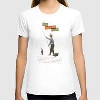 The Fisher King Womens Fitted Tee White SMALL