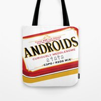 Androids Tote Bag