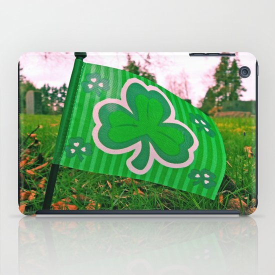 Shamrock flag iPad Case