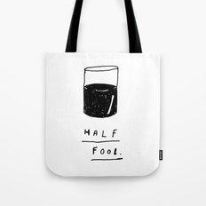 HALF FOOL Tote Bag