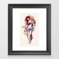 Natalie Framed Art Print
