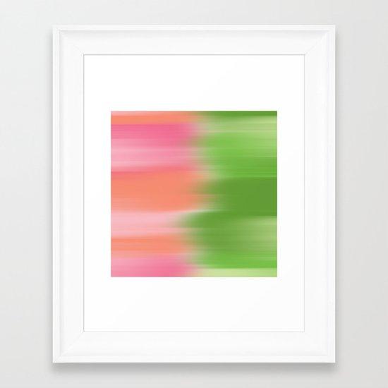 Summers Garden Framed Art Print