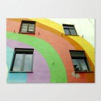 Tirana Bright City Canvas Print