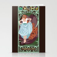 Thumbelina Nouveau - Thumbelina Stationery Cards