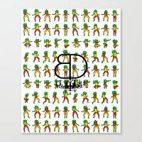 Jah Luv BD - BD X RC Gra… Canvas Print