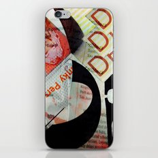 Abstract Newspaper iPhone & iPod Skin
