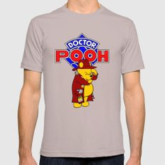 Doctor Pooh Mens Fitted Tee Cinder SMALL