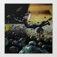 Astro Boy | Collage Canvas Print