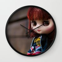 Penny my Middie Blythe  Wall Clock