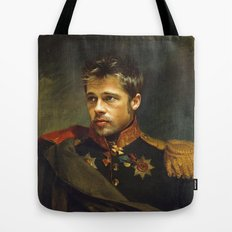Brad Pitt - replaceface Tote Bag