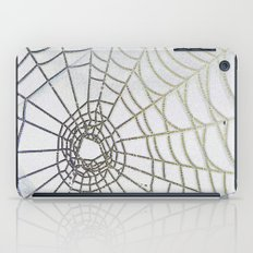 Dew Drop Spider Web iPad Case
