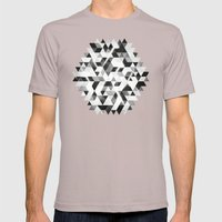 Amped (monochrome Series… Mens Fitted Tee Cinder SMALL