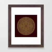 Puzzled (Moroccan Mandal… Framed Art Print