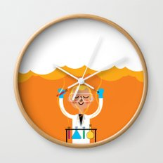 Science is Fun Wall Clock