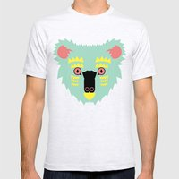 Kute Koala Mens Fitted Tee Ash Grey SMALL