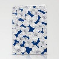 Dogwood Q: Surf Blue Ivo… Stationery Cards