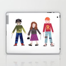 Harry, Hermione, and Ron Laptop & iPad Skin